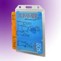 Scheckkartenhalter als Mehrfachkartenhalter
