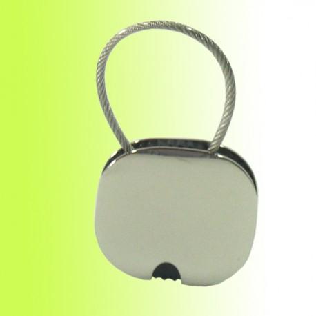 Schlüsselanhänger Quadrat