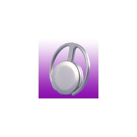 Schlüsselanhänger Metall  Satin-Matt