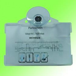 Parkkartenhalter horizontal mit Saugnapf