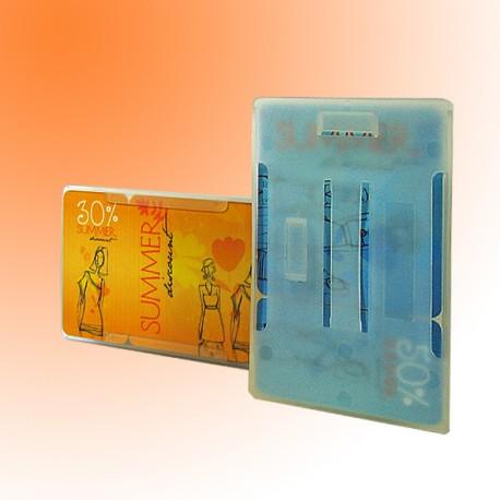 Scheckkartenhalter als Mehrfachscheckkartenhalter