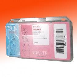 Scheckkartenhalter-Adapter für zwei Ausweise
