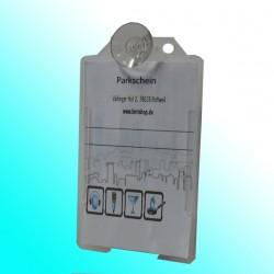 Parkkartenhalter vertikal mit Saugnapf 20 mm