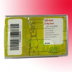 RFID-Scheckkartenhalter mit Metallabschirmung