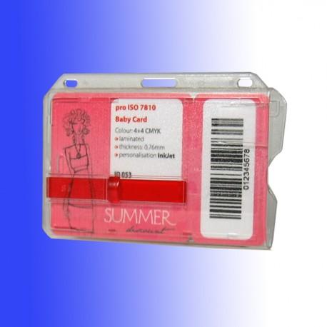 """Scheckkartenhalter als """"Doppelbox"""