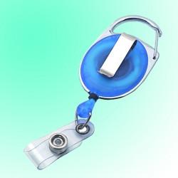 Ausweisjojo oval mit Metallumrandung