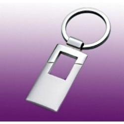 Schlüsselanhänger silber, aus Metall