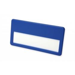 Basic Namensschild, Namensfeld ca. 62 x 15 mm, Mit Kunststoff-Klemmbügel