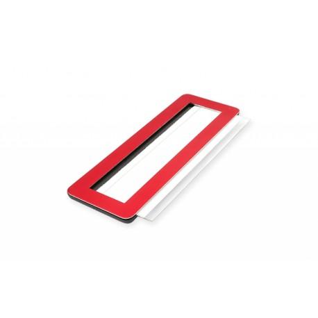 Metall-Namensschild mit Magnet