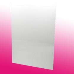 Papierkarten. 10 Karten auf einem DIN A4 Bogen microperforiert