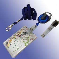 Scheckkartenhalter-Ausweisjojo-Clip-Umhängeband