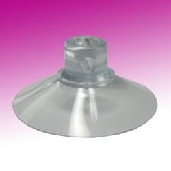 Saugnapf 40mm Durchmesser mit Querloch 3mm