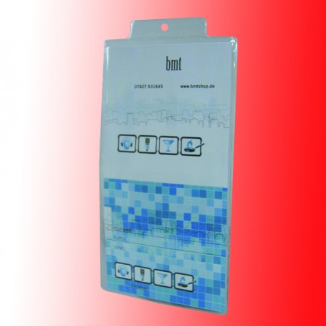 Ausweishülle als Tickethülle aus Weich-PVC