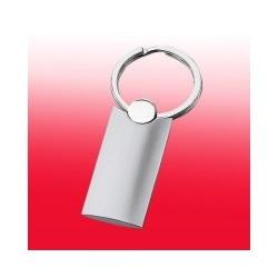 Schlüsselanhänger aus Metall, Gesamtlänge ca. 79 mm